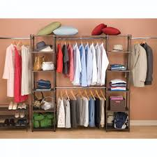 expandable closet organizer system resin slat