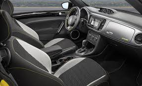 Volkswagen Beetle Convertible interior gallery. MoiBibiki #7
