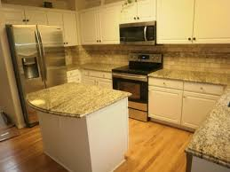 backsplash pictures for granite countertops. White Subway Tile Backsplash With Santa Granite Countertops Pictures For C