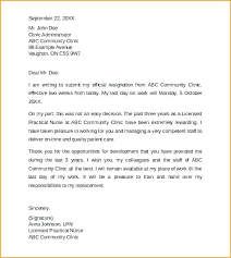 2 Weeks Notice Template Best Resignation Letter Sample 48 Weeks Notice Quit Job Day Letters Week