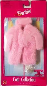 barbie barbie pink faux fur coat collection fashions box 68650 value and details