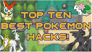 10 best pokemon hacked gba roms of all