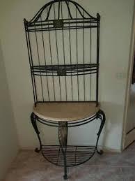wrought iron bathroom shelf. French Provincial Wrought Iron Bakers Stand Shelf Entryway | Bookcases \u0026 Shelves Gumtree Australia Manningham Area - Templestowe 1182846468 Bathroom S