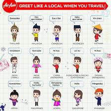 Airasia On Twitter Greet Like A Local When You Travel Happiness