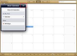 Calendars To Edit Calendar Management