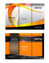 Presentation Trifold Front And Back Page Presentation Of Professional Business Trifold