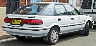 1991 Toyota Corolla liftback (e9) – pictures, information and ...
