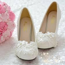 handmade wedding shoes white pearl high heeled lace embroidered Wedding Shoes Handmade handmade wedding shoes white pearl high heeled lace embroidered wedding shoes bridesmaid shoes formal dress wedding shoes handmade