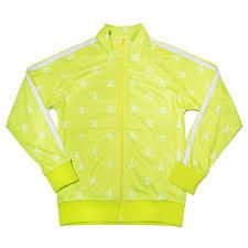 Chartreuse Track Jacket
