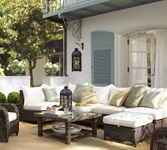 Image Seagrass Woven Outdoor Furniture Decorpad Woven Outdoor Furniture Mediterranean Deckpatio Pottery Barn