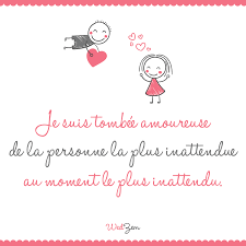 Cest Quand On Sy Attend Le Moins Amour Citation Citations