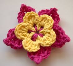 Crochet Flowers Patterns Mesmerizing Starters Guide To Some Easy Crochet Flower Pattern YishiFashion