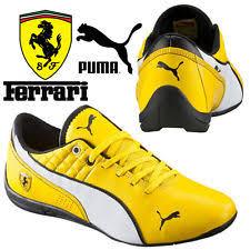 puma shoes ferrari yellow. puma drift cat 6 scuderia ferrari youths trainers f1 motor sport yellow shoes puma y