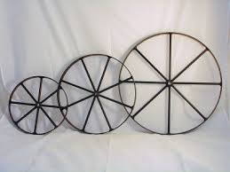 here for more information or to purchase our metal wagon wheels the metal wheels are available in 8 10 14 18 24 36