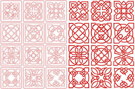 4-Hobby.com - Machine Embroidery Designs :: Quilt Blocks :: Celtic ... & Celtic Redwork and Embroidery Square Quilt Blocks 4x4, 5x5 and 6x6 hoop Adamdwight.com