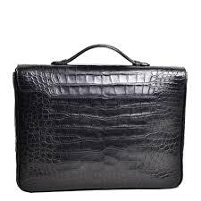 bally briefcase alligator leather