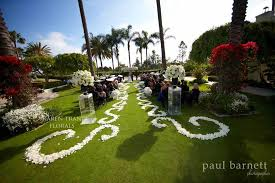 rose petal aisle runner for outdoor wedding ceremonies 5