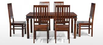 indian dining table 6 chairs. jali sheesham 160 cm thakat dining table and 6 chairs indian i