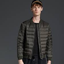 newbang brand winter jacket men ultra light down jacket men warm winter coat baseball collar feather men s coat clothing