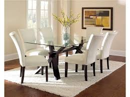 full size of minimalist dining room top skoo glass dining table set chairs decor round