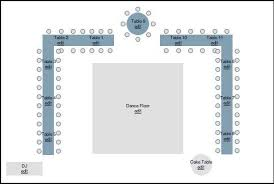 Wedding Diagram Sample Seating Diagram For Long Tables And A Sweetheart Or Head