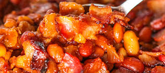 boston bbq oven baked beans with bacon