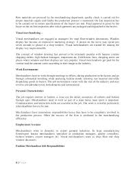 Visual Merchandiser Cover Letters Assistant Merchandiser Cover Letter Corto Foreversammi Org
