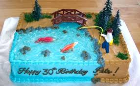 Fishing Cake Ideas For Birthday S Decorati Betseyjohnsonshoesus