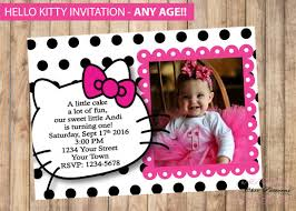 invitation card hello kitty printable birthday cards free premium templates