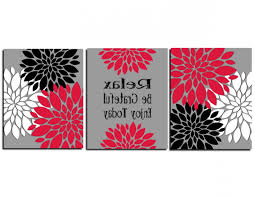 newest red and grey bathroom accessories black ideas white decor sets red inside nvga wall art