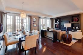 Luxury Living Room Design Combine Dining And Living Room Design With Luxury Beside