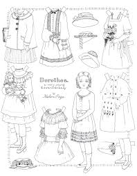 Paper Dolls To Print And Color Inspiring Paper Dolls Print Outs