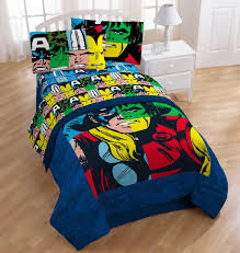 marvel twin bedding set designs heroes comforter queen size avengers cut cloth headboard waterproof mattress cover