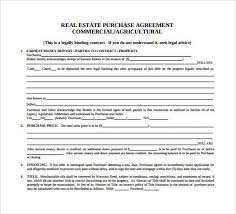 Purchase Agreement Samples Free Download 8 Sample Property Purchase Agreements Activetraining Me