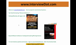 top 5 java software architecture book interview preparation top 5 java software architecture book interview preparation