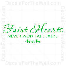 home décor items peter pan faint hearts