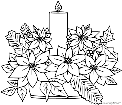 Click the unique poinsettia coloring pages to view printable version or color it online (compatible with ipad and android tablets). Poinsettia Coloring Pages Coloringall