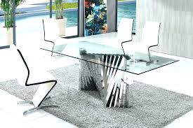modern glass dining table. Exellent Dining Related Post Inside Modern Glass Dining Table D
