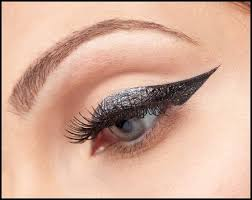 cat eye makeup and smokey eye makeup stencils how to do winged liner