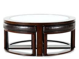 ... Round Coffee Table With Stools Underneath Uk Nesting Stool Set ...