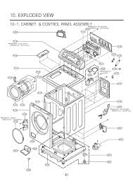 lg washing machine parts diagram lg image wiring i have a lg front load washer model wm0642hw the door locked on lg washing machine