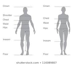 Female Neck Size Chart
