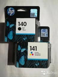 <b>Картриджи HP</b> 140 и HP <b>141</b> купить в Москве на Avito ...