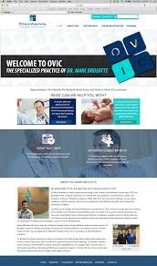 Findlay Web Design Citivine Web Design Pm Design Ovic Clinic On Behance
