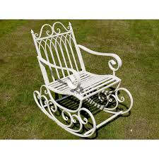 wrought iron rocking bench off 72