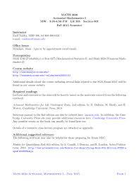 Math 3630 Actuarial Mathematics I Mw 3 35