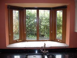 Window Seat Living Room Living Room Interior Delightful Wooden Four Windows With Bay
