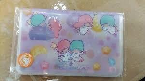 2018 Sanrio Little Twin Stars Fold Card Holder With Sim Card