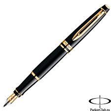 <b>Перьевая ручка Waterman</b> (Ватерман) <b>Expert</b> 3 Black GT F ...