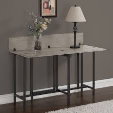 Convertible Wood Dining Table Grey - Free Shipping Today - Overstock.com -  17095937